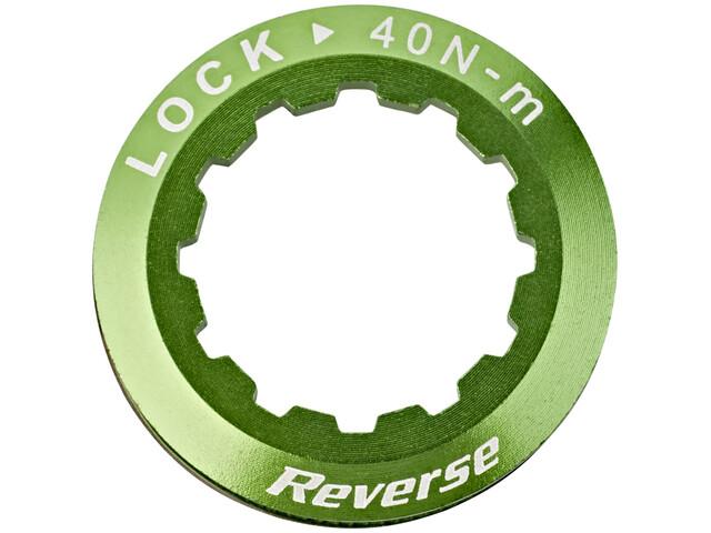 Reverse Cassettes Lockring Cassette green